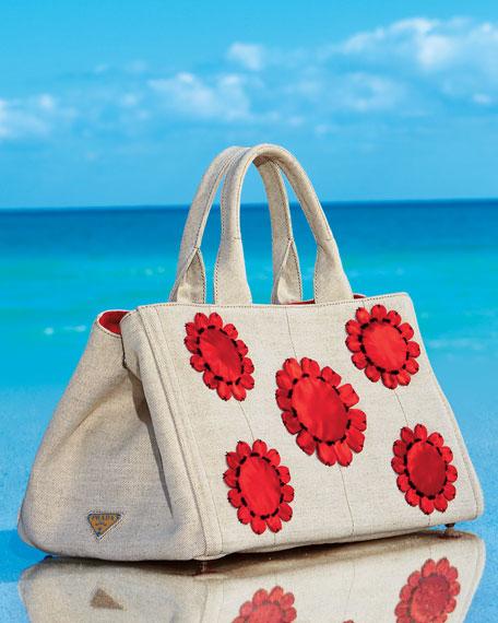 Mistollino Floral Gardner's Tote Bag