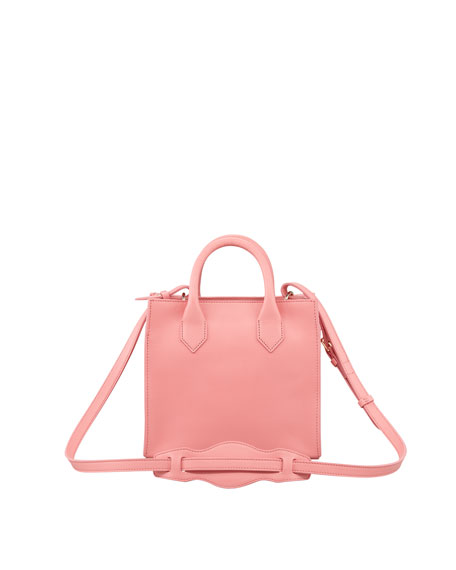 Padlock Mini Crossbody Bag, Pink