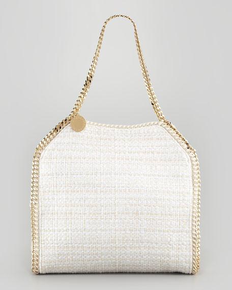 Baby Bella Boucle Tweed Shoulder Bag, Natural
