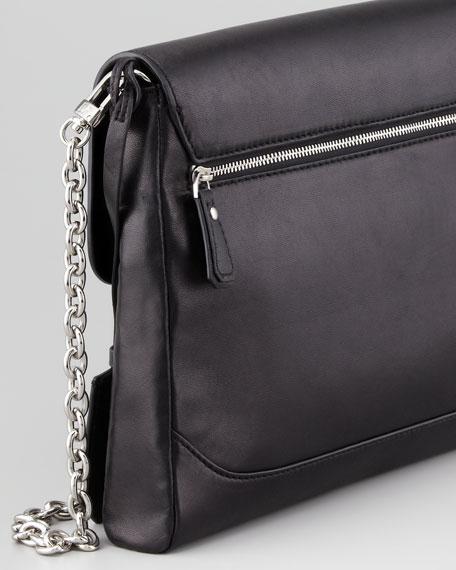 Mimosa Studded Clutch Bag, Black