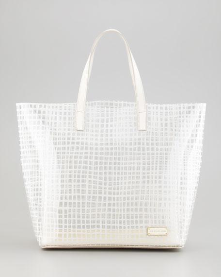 Checkmate PVC Tote Bag