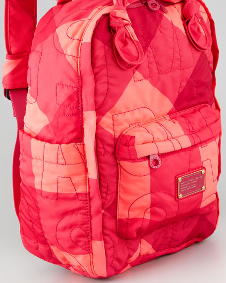 Pretty Nylon Stacey Check Knapsack