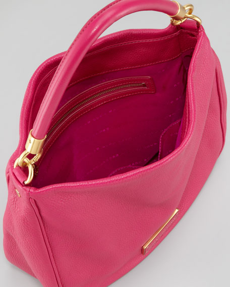 Too Hot to Handle Hobo Bag, Fuchsia