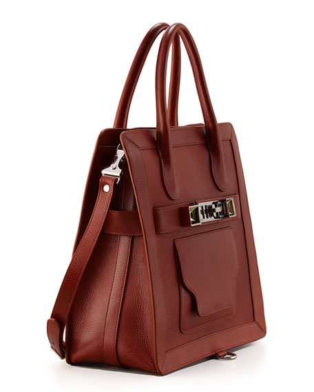 PS11 Tote Bag, Saddle