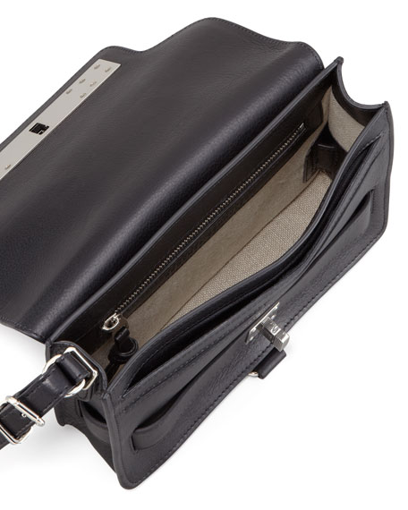 PS11 Wristlet Clutch Bag, Black