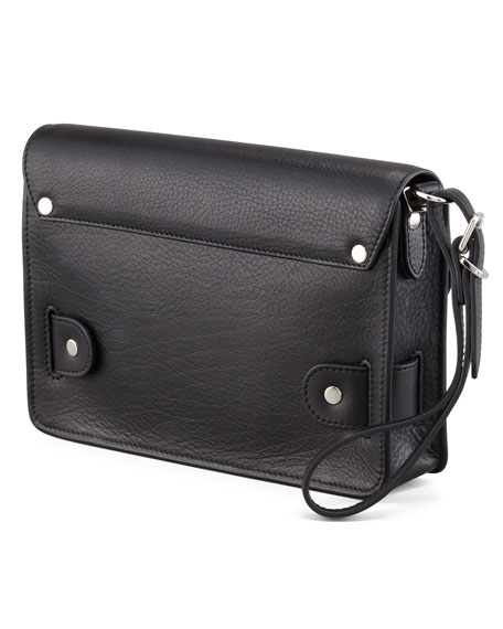PS11 Wristlet Clutch Bag, Black
