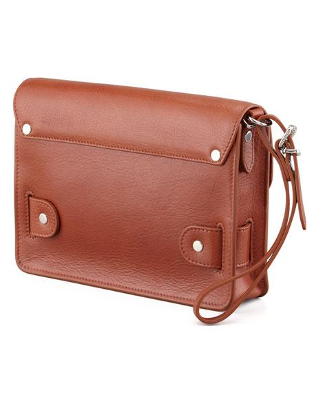 PS11 Wristlet Clutch Bag, Saddle