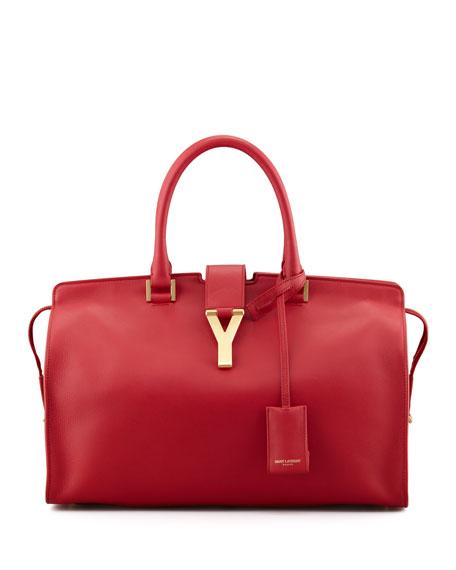 Y Ligne Soft Leather Bag, Red