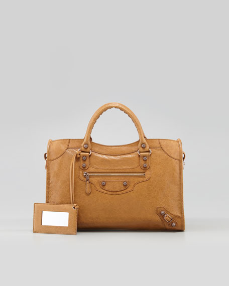 Giant 12 Rose Golden City Bag, Latte