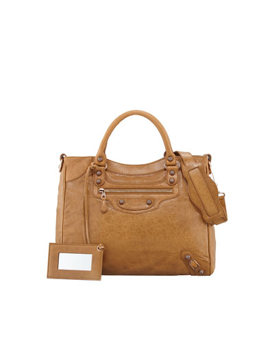 Balenciaga Giant 12 Rose Golden Velo Bag, Cumin