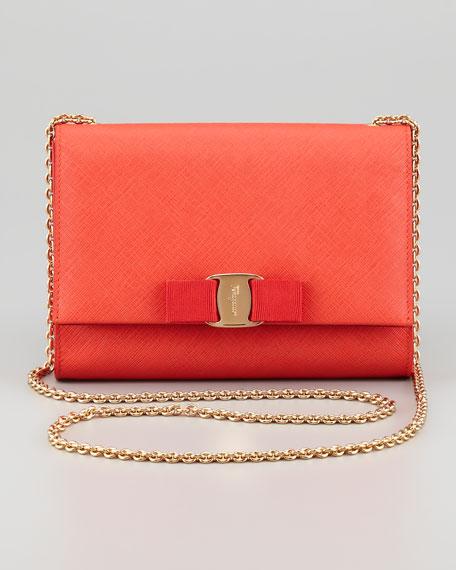 7efb91bf68da Salvatore Ferragamo Vara Chain Clutch Bag