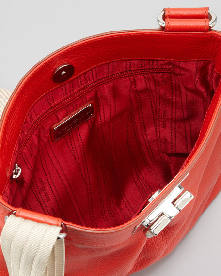 Graziella Crossbody Bag, Coral
