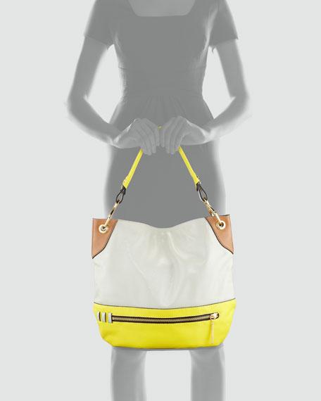 Oryany Whitney Colorblock Shoulder Bag, Multi