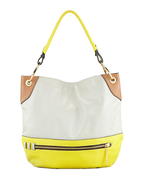 Whitney Colorblock Shoulder Bag, Multi