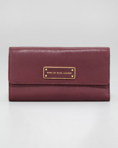 Too Hot to Handle Long Tri-Fold Wallet