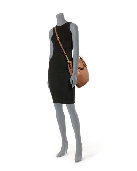 Large Bedford Pebbled Shoulder Bag