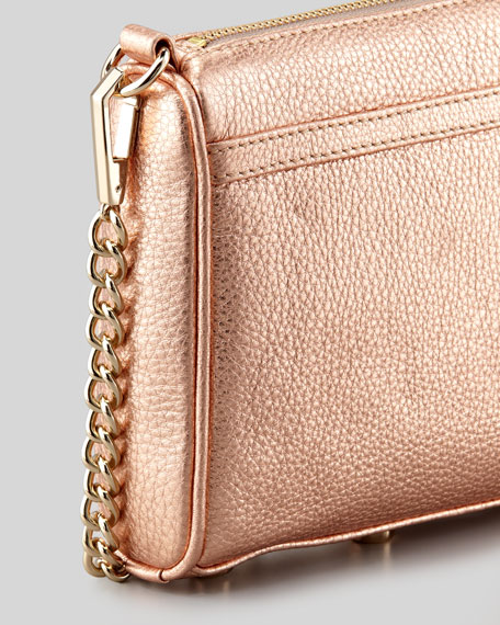 Mini M.A.C. Crossbody Bag,Rose Gold