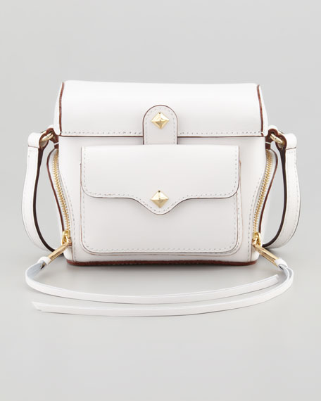 Craig Leather Camera Case, White