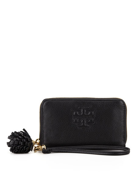 Thea Smart Phone Wristlet, Black