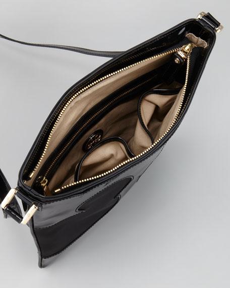 Amalie Swingpack Crossbody Bag, Black
