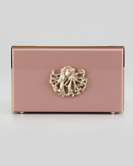 Pandora Virgo Zodiac Clutch, Purple