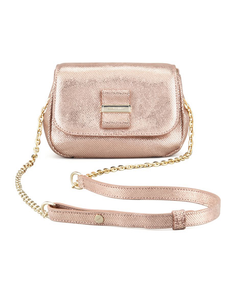 See by Chloe Rosita Metallic Crossbody Bag, Champagne