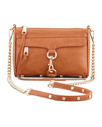 Mini MAC Core Crossbody Bag, Almond