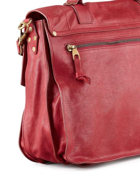 PS1 Large Satchel Bag, Red
