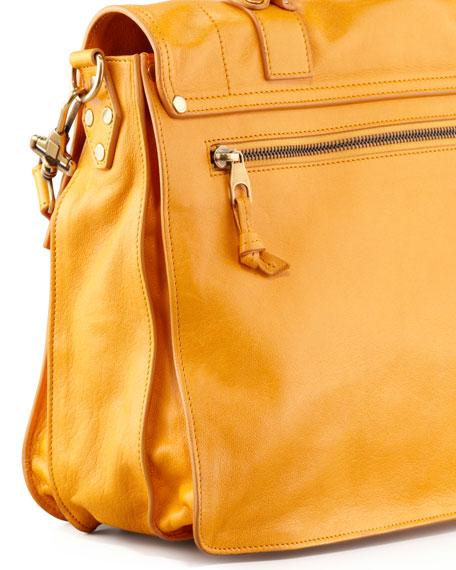 PS1 Large Satchel Bag, Krisna Yellow