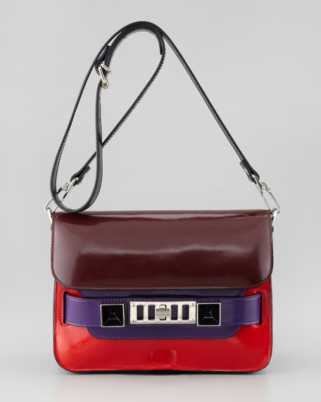 PS11 Mini Classic Shoulder Bag, Multicolor