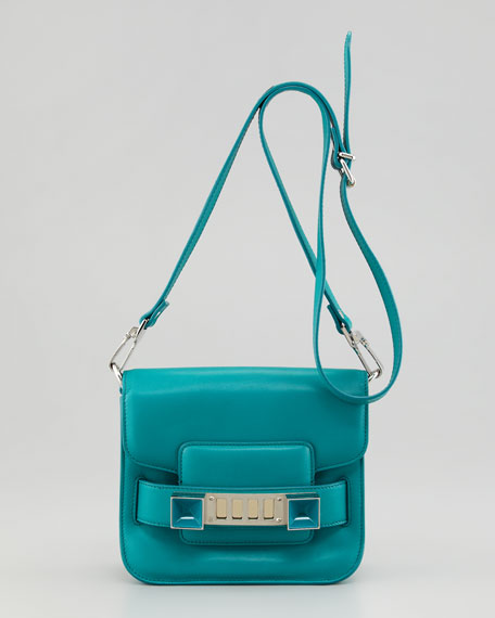 PS11 Tiny Crossbody Bag, Turquoise
