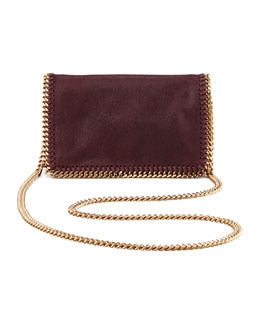 Stella McCartney Falabella Chain Crossbody Bag, Plum