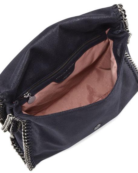Falabella Flap Shoulder Bag, Navy
