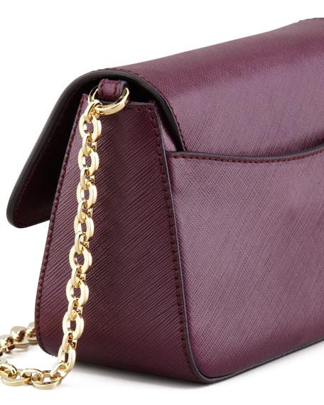 Paris Saffiano Crossbody Bag, Wine