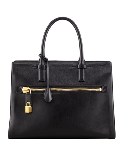Tom Ford Charlotte Zip Pocket Tote