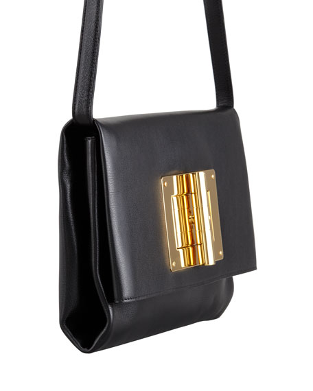 Soft Natalia Leather Clutch Bag