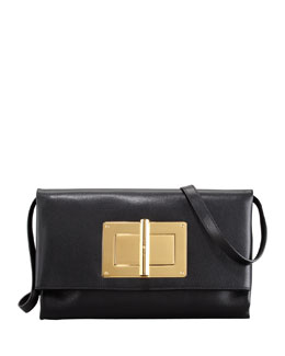 Tom Ford Soft Natalia Leather Clutch Bag