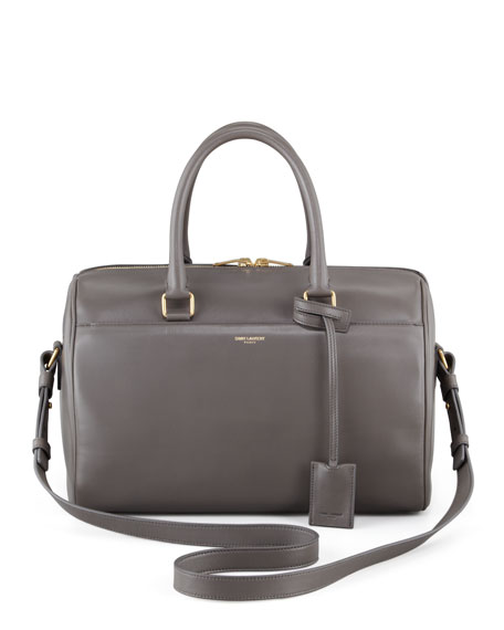Small Duffel Saint Laurent Bag, Gray