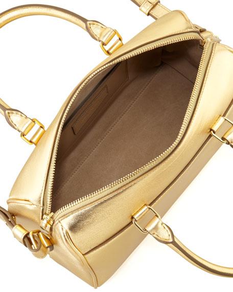 Classic Metallic Duffel 3 Bag, Golden