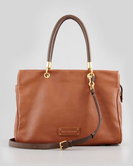 Too Hot To Handle Tote Bag, Brown Multi