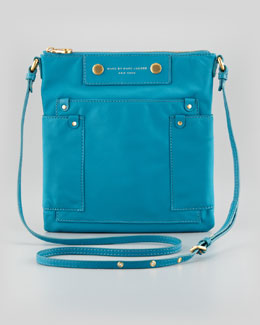 MARC by Marc Jacobs Preppy Nylon Sia Crossbody Bag, Teal