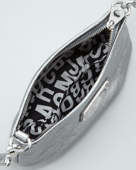 Classic Q Percy Crossbody Bag, Gray Metallic