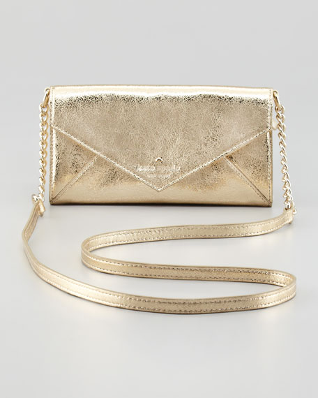 harrison street kylie crossbody bag, gold