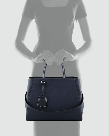 2Jours Tote Bag, Dark Navy
