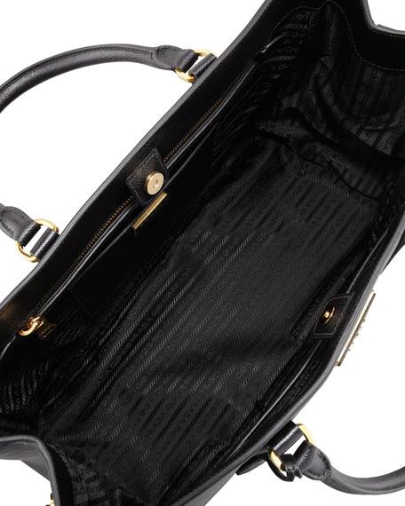ae38b4885194 Prada Saffiano Gardener's Tote Bag, Black (Nero)