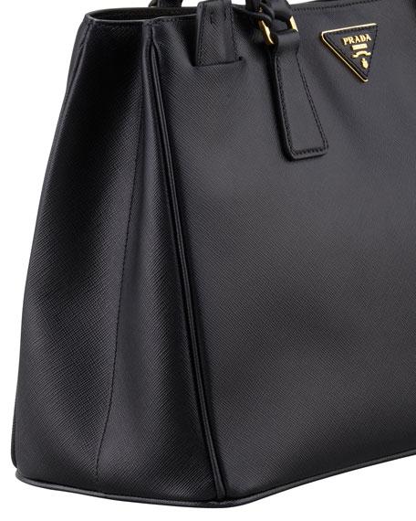 Prada Saffiano Gardener\u0026#39;s Tote Bag, Black (Nero)