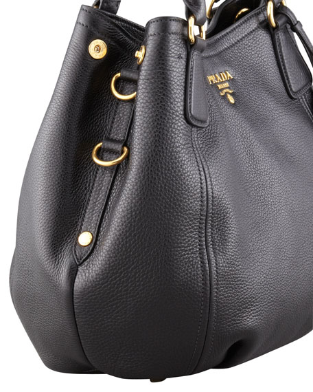 Prada Daino Medium Leather Tote Bag leE0LLI8