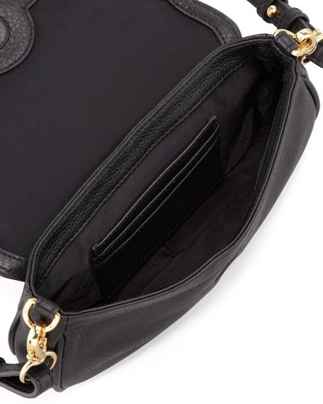 Amanda Mini Messenger Bag, Black