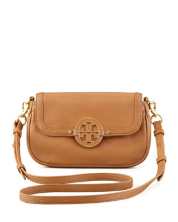 Tory Burch Amanda Mini Messenger Bag, Royal Tan