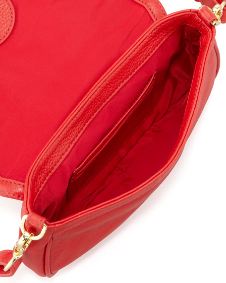 Amanda Mini Messenger Bag, Red